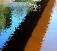 Reflective river by Bluesrose