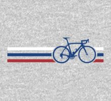 Bike Stripes Russia v2 One Piece - Short Sleeve