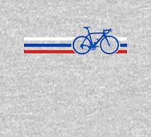 Bike Stripes Russia v2 Unisex T-Shirt