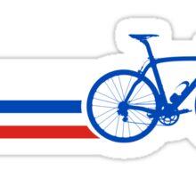 Bike Stripes Russia v2 Sticker