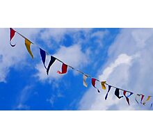 Colourful Flags  Photographic Print