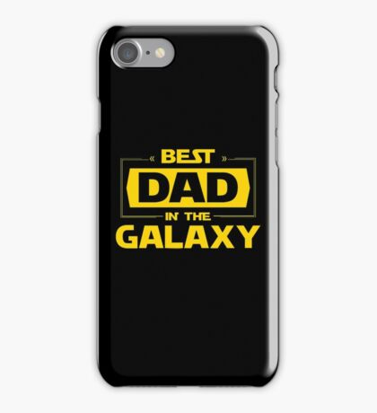 Best Dad in Galaxy iPhone Case/Skin
