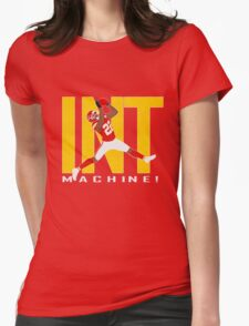 INT MACHINE!! Womens Fitted T-Shirt