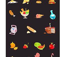 + food everywhere + by Cheapcookiez