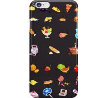 + food everywhere + iPhone Case/Skin