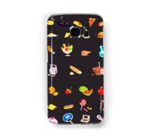 + food everywhere + Samsung Galaxy Case/Skin