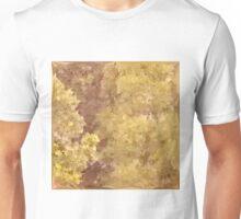 Dark Khaki Green Abstract Low Polygon Background Unisex T-Shirt