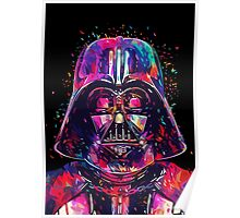The Darth (Colorful) Vader Poster
