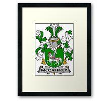 McCaffrey Coat of Arms (Irish) Framed Print