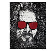 Lebowski Stippling Photographic Print