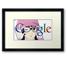 Google Megane Framed Print