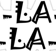 The Beatles Ob La Di Ob La Da Music Quotes Lennon McCartney Starr Harrison Sticker
