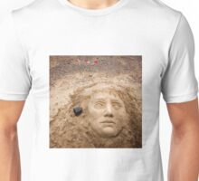 Face in the sand Unisex T-Shirt