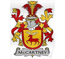 McCartney Coat of Arms (Irish) Poster