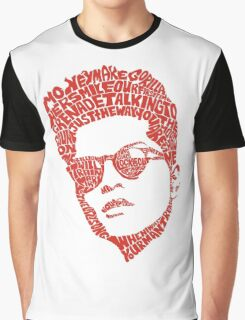 bruno mars thypography RC Graphic T-Shirt