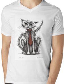 Cool cat Mens V-Neck T-Shirt