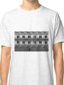 Reflections in the fishing port Classic T-Shirt