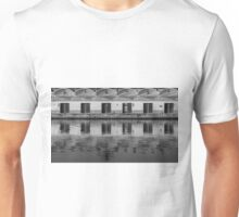 Reflections in the fishing port Unisex T-Shirt