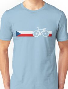 Bike Stripes Czech Republic Unisex T-Shirt