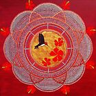 Life is Sweet Mandala by FRANKEY CRAIG