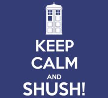 Keep Calm and shush! by Golubaja