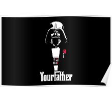Darth Vader - Your Father Poster