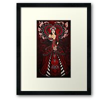 Queen of Hearts Framed Print