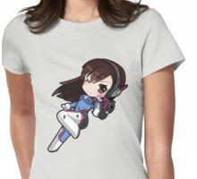 OVERWATCH D. VA Womens Fitted T-Shirt