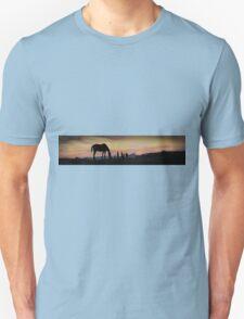 Horse silhouette Unisex T-Shirt