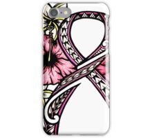 Breast Cancer Awareness iPhone Case/Skin