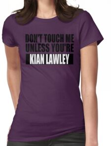 don't touch - KL Womens Fitted T-Shirt