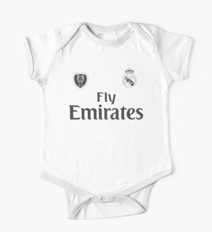 Real Madrid One Piece - Short Sleeve