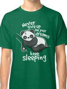 Panda keep sleeping Classic T-Shirt