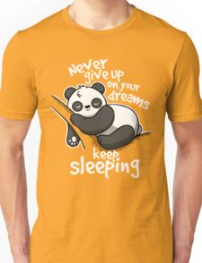 Panda keep sleeping Unisex T-Shirt