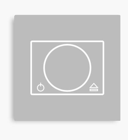 PlayStation minimal Canvas Print