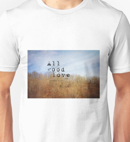 Romans 8 Good Unisex T-Shirt