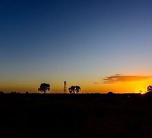 Outback Sunrise by wolfcat