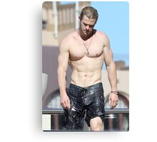 Chris Hemsworth Shirtless Canvas Print