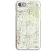 USGS TOPO Map Arkansas AR Magnolia 258996 2000 24000 iPhone Case/Skin