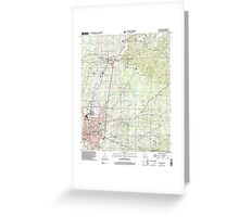 USGS TOPO Map Arkansas AR Magnolia 258996 2000 24000 Greeting Card