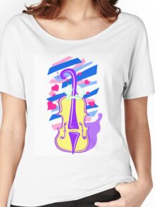 Cello Love Women's Relaxed Fit T-Shirt