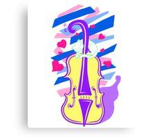 Cello Love Canvas Print