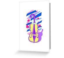 Cello Love Greeting Card