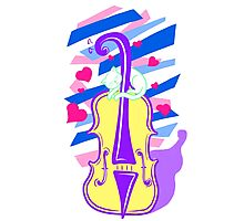 Cello Love Photographic Print