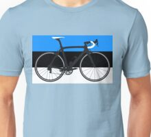 Bike Flag Estonia (Big - Highlight) Unisex T-Shirt