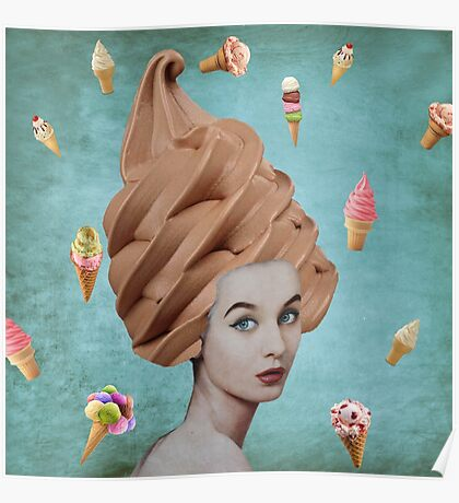 Cone Lady Poster