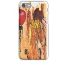 MAN WITH BALLOON iPhone Case/Skin