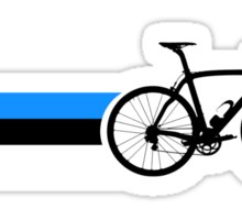 Bike Stripes Estonia Sticker