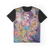 The Fairies of Zodiac series - Pisces Graphic T-Shirt
