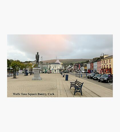 Wolfe Tone Square Bantry, Cork Photographic Print